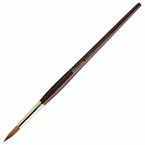 escoda-reserva-1212-watercolor-acrylic-kolinsky-tajmyr-sable-paint-brush-round-pointed-size-5-0