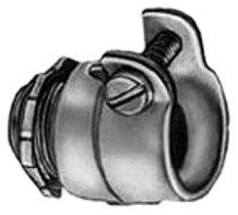Bridgeport 408 3/4-Inch Flexible Metal Conduit Squeeze Connector, 10-Pack