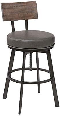 Super Amazon Com Armen Living Montreal Faux Leather Adjustable Short Links Chair Design For Home Short Linksinfo
