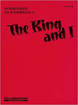 Book The King and I-Vocal Score-Music Book