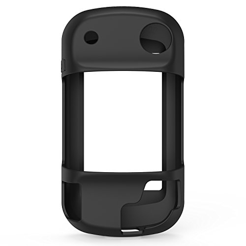 TUSITA Case for Garmin Montana 600 610 610t 650 650t 680 680t - Silicone  Protective Cover - GPS Bike Computer Accessories (Black B)