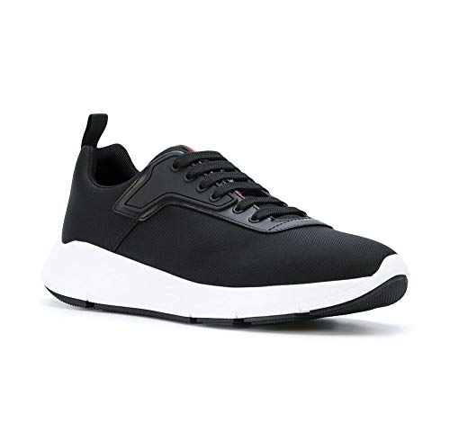 (Prada Men's Nylon Technical Fabric Sneakers, Nero (Black) 4E3148 (9 US / 8 UK) )
