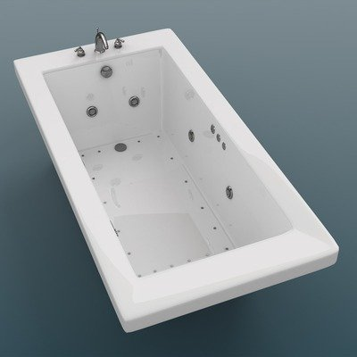 Merveilleux Guadeloupe 32 X 72 X 23u0026quot; Rectangular Air And Whirlpool Jetted Bathtub  Color/Trim