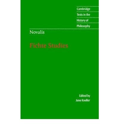 Download [(Novalis: Fichte Studies)] [Author: Novalis] published on (September, 2003) pdf