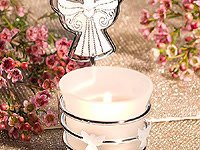 Guardian Angel Photo/Place Card Holder Candles - 36 count
