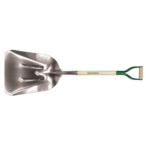 union-tools-53136-14-western-aluminum-scoop-with-crimp-collar-and-d-grip