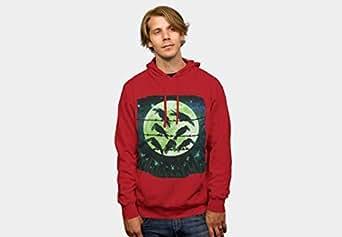 Wedenote Inc Red Round Neck Hoodie & Sweatshirt For Unisex