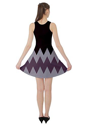 CowCow - Vestido - para mujer Claret and Grey