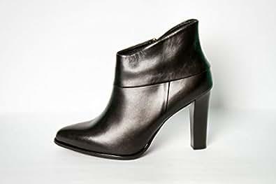 HOEGL Black Heel Boot For Women