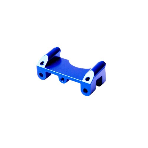 Atomik RC Traxxas E-Revo 1:10 Aluminum Alloy Front Shock Mount Hop Up Upgrade, Blue Replaces Traxxas Part 5317