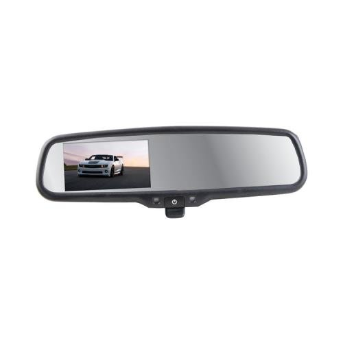 Csp Sv-9157 Replacement Style Manual-Dimming Mirror With 4.3 Digital Color Lcd Screen