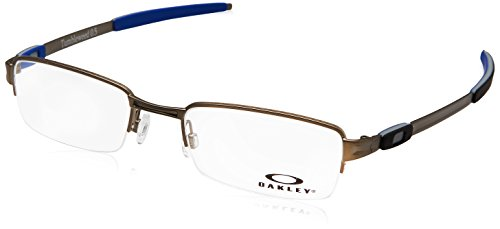 Oakley Tumbleweed 0.5 OX3142-0450 Eyeglasses Matte Cement Clear Demo 50 - Prescription 50 Glasses