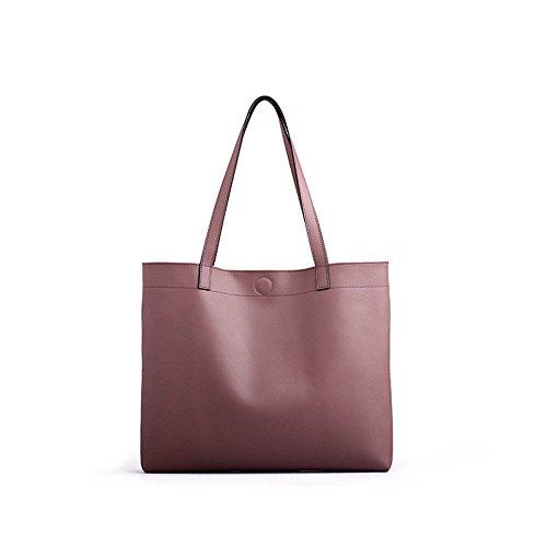 GWQGZ Nueva Moda Original Dama Bolso Simple Moda Bolso Negro Pink