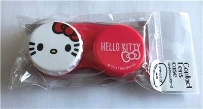 New HELLO KITTY Contact Lens Case Imported from JAPAN
