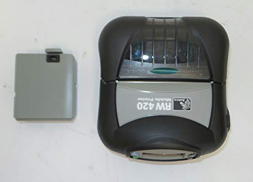 Zebra RW420 Mobile Printer with Bluetooth Radio P/N: R4D-0UBA000N-00 ()