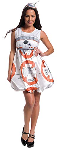 Bb-8 Halloween Costume (Rubie's Women's Star Wars Episode VII: The Force Awakens Deluxe BB-8 Costume, Multi,)