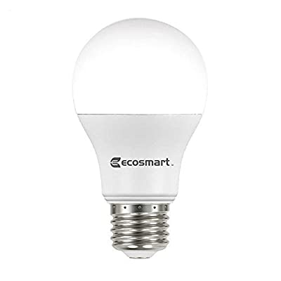 60W Equivalent Daylight A19 Non-Dimmable LED Light Bulb (4-Pack)
