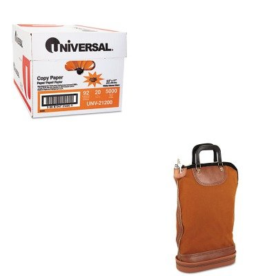KITPMC04644UNV21200 - Value Kit - Pm Company Regulation Post Office Security Mail Bag (PMC04644) and Universal Copy Paper (UNV21200) ()