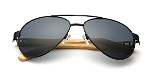 Vintage Pilot Sunglasses Fashion Eyewear 100% UV Protection for Men ()