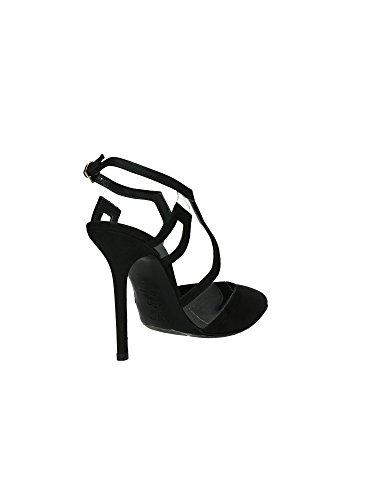 Wo Milano T206 Sandales femmes Noir, Taille 1