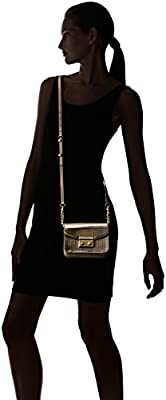 Calvin Klein Novelty Mirrored Flap Crossbody