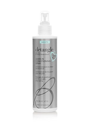 Brocato Detangle Leave-In Conditioning Spray, 8.5 Ounce, by Beautopia Hair (Spray Conditioning)