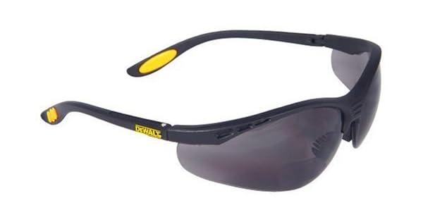 Amazon.com: Gafas de seguridad con lentes ahumadas Dewalt ...