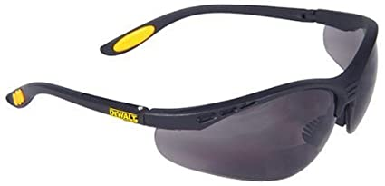 8f573e224cc Dewalt DPG59-215C Reinforcer Rx-Bifocal 1.5 Smoke Lens High Performance  Protective Safety Glasses