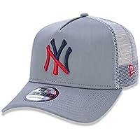 BONE 940 NEW YORK YANKEES MLB ABA CURVA CINZA NEW ERA