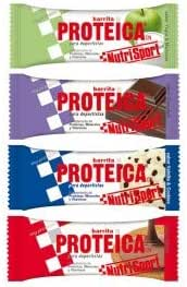 Nutrisport Barrita Proteica 24 barritas Sabores Variados