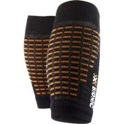 X-Bionic Spyker BQ-1 calf guards black/orange