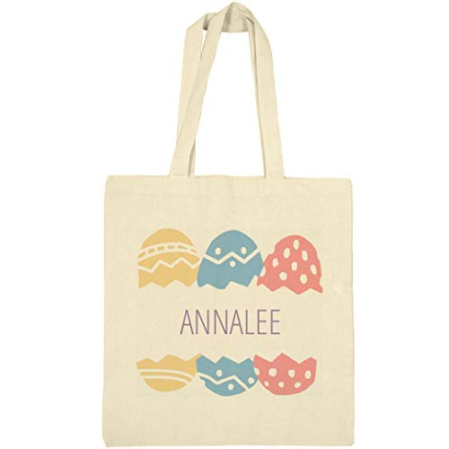 Annalee Spring - Easter Egg Hunt Bag For Annalee: Canvas Bargain Tote Bag