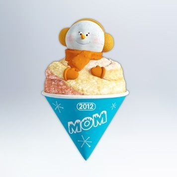 (Hallmark 2012 - Mom - Snow Cone Ornament)