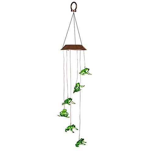 Evergreen Garden All-Weather Frog Solar ()