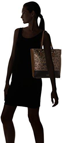 Tous Shopping Elice - Borse A Spalla Donna Varios Colores multi Negro 14x32x30 Cm w X H L