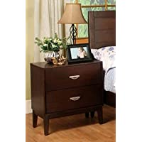 247SHOPATHOME Idf-7910N, nightstand, Cherry