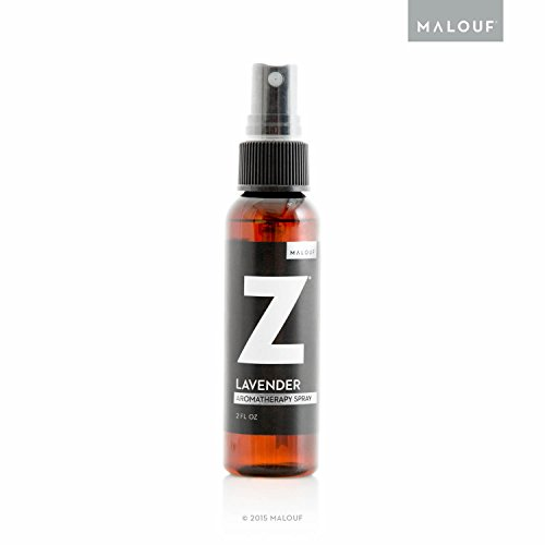 All Natural Z Aromatherapy Mist Made with Real Lavender Oil, 2 Ounce Spray Bottle
