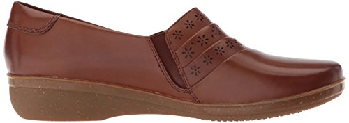 Uma Everlay Platform CLARKS Women's Dark Tan wE5qv