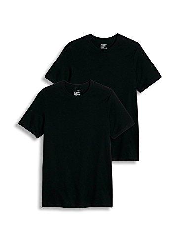 Jockey Xl Crewneck T-shirts - Jockey Men's T-Shirts Tall Man Classic Crew Neck - 2 Pack, black, XL
