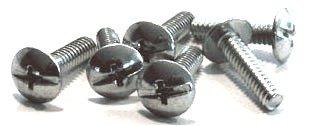 10-32 x 1/2'' Machine Screws/Combo/Truss Head/Steel/Zinc/8,000 Pc. Carton