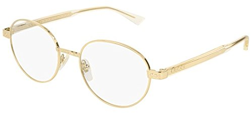 Gucci GG 0189 O- 003 GOLD/YELLOW Eyeglasses