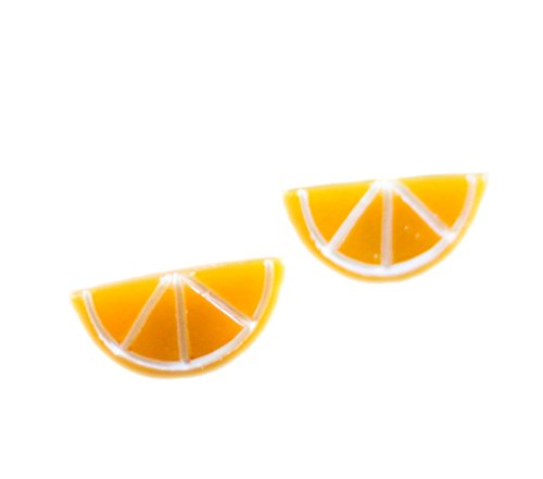 60s Diner Costume (Orange Slice Resin Post)