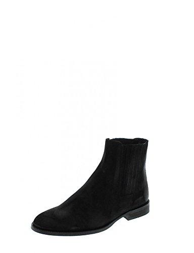 Fashion Boots FM1001 Dean Prim Whisky Lederstiefelette für Herren Braun Chelsea Boot Serraje Negro