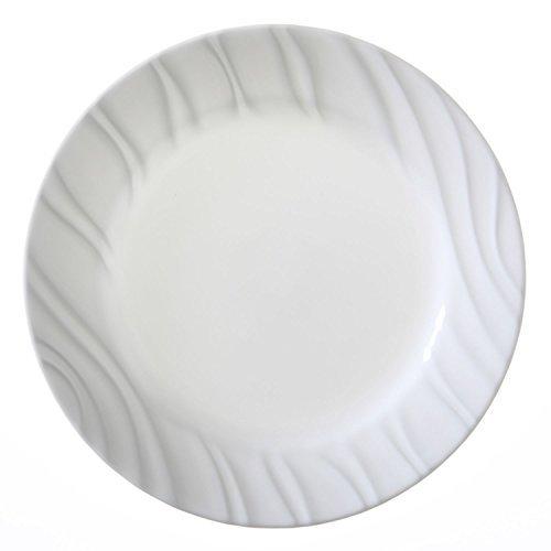 "Price comparison product image Corelle Boutique Swept 8.5"" Lunch Plate (Set of 4)"