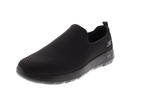 Trainers Max Mens Walk Mesh Skechers Go Black qaXPwBCB1