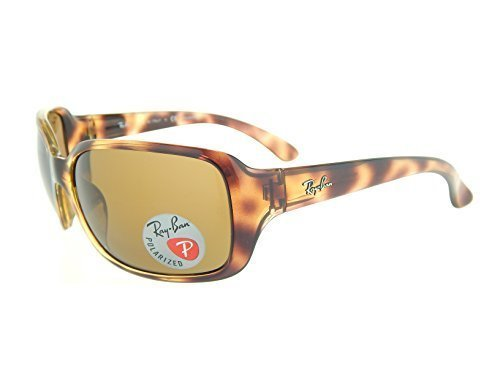 New Ray Ban RB4068 642/57 Tortoise/ Brown Classic B-15 60mm Polarized Sunglasses (Sunglasses 57 Polarized Brown)