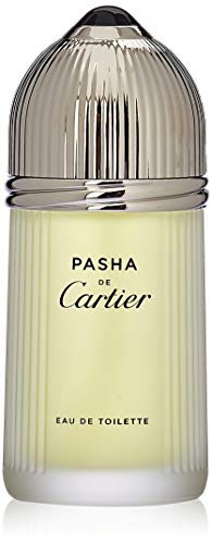 Cartier Pasha De Cartier Eau de Toilette Spray for Men, 3.3 Fluid Ounce - De Mens Toilette Cartier Eau