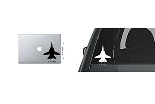 4x F-14 Tomcat Top Gun Navy Sticker Window Vinyl Decal Pilot Fly Aircraft Jet USA (F-14 Tomcat Pilot)