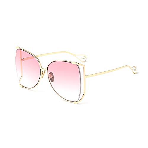 Femme Sport lunettes coréenne dégradées Beat B Soleil E Personality de de de Lunettes soleil Box Big Version Des Nouvelle Street rétro Couleur xItApI