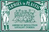 American Revolution Loyalist Infantry (Tories) (20) 1/32 Armies in Plastic